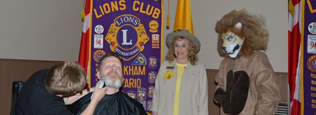 Markham Lions Club – Tame the Mane